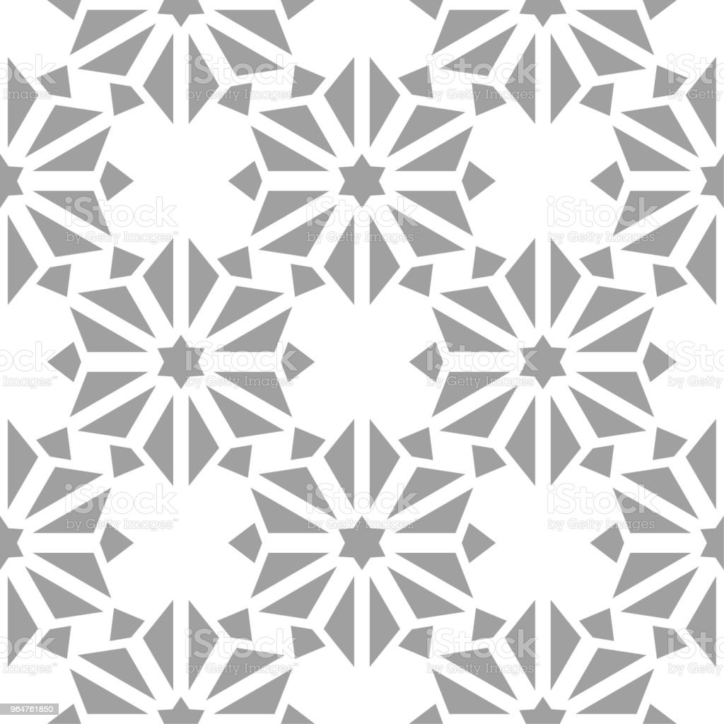 White and gray floral seamless pattern royalty-free white and gray floral seamless pattern stock vector art & more images of abstract