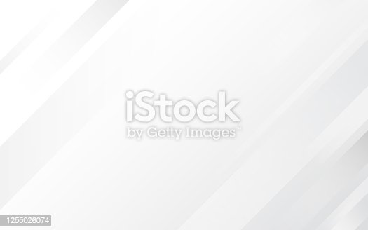 istock White and gray geometric polygon subtle abstract background vector 1255026074