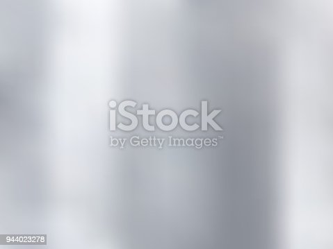 White and gray gradient blurred style background. Silver metal material texture. Vector illustration