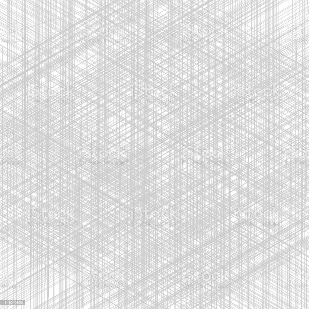 White and gray stripes texture pattern for Realistic graphic design fabric material wallpaper background. Grunge overlay texture random lines. Vector illustration vector art illustration