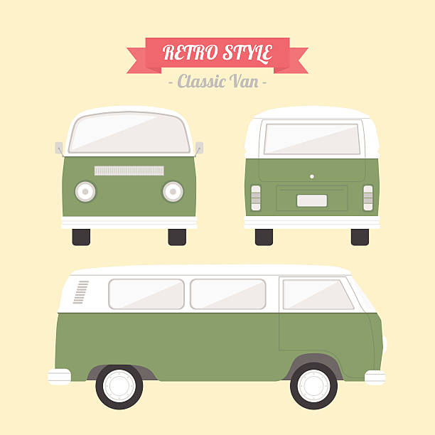van - vans stock-grafiken, -clipart, -cartoons und -symbole