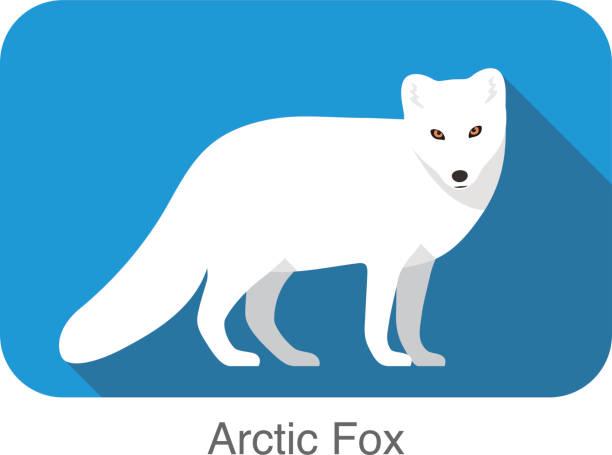 Fox black and white arctic fox clipart 3 - WikiClipArt