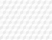 White texture box shape wall seamless pattern