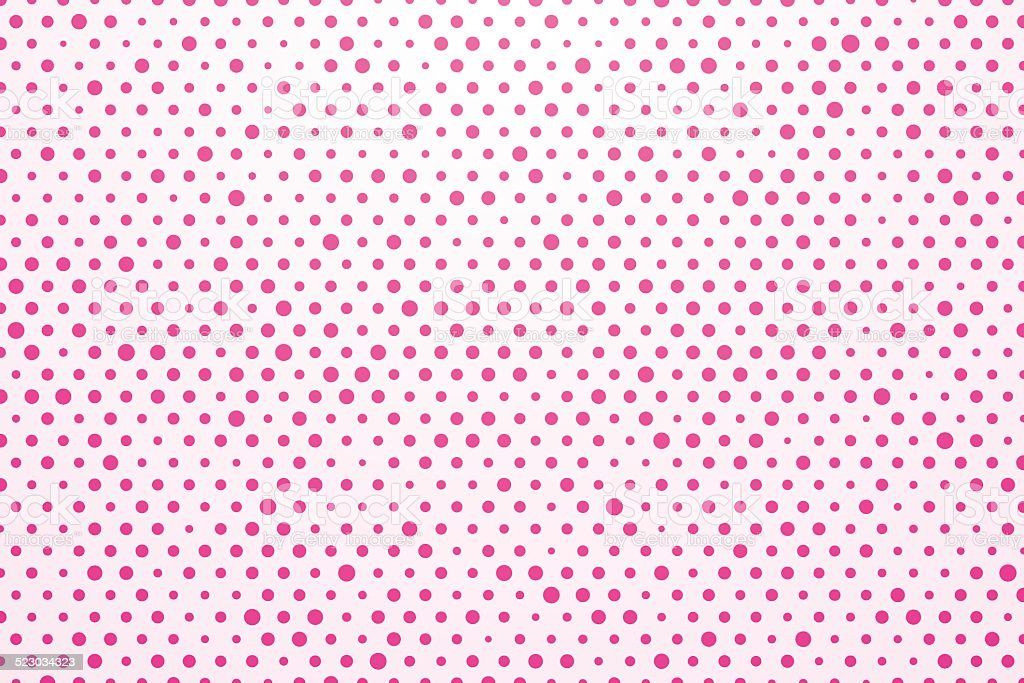 Sfondo Bianco Con Pois Rosa Immagini Vettoriali Stock E Altre