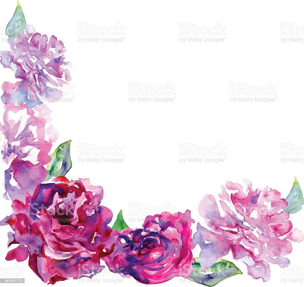 Sfondo Bianco E Viola Rosa Peons E Spazio Copia Immagini
