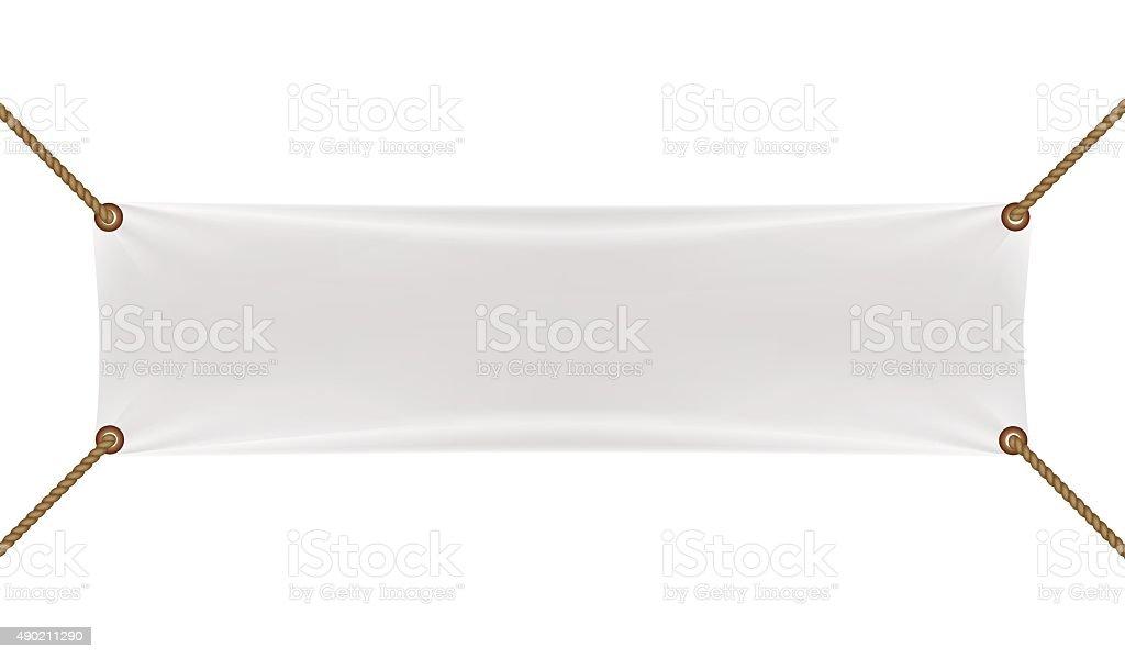 banners con garters blanco - ilustración de arte vectorial