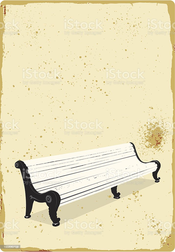 white bench royalty-free white bench stock vector art & more images of bench