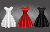 istock White, black and red retro woman cocktail dress 1195696089