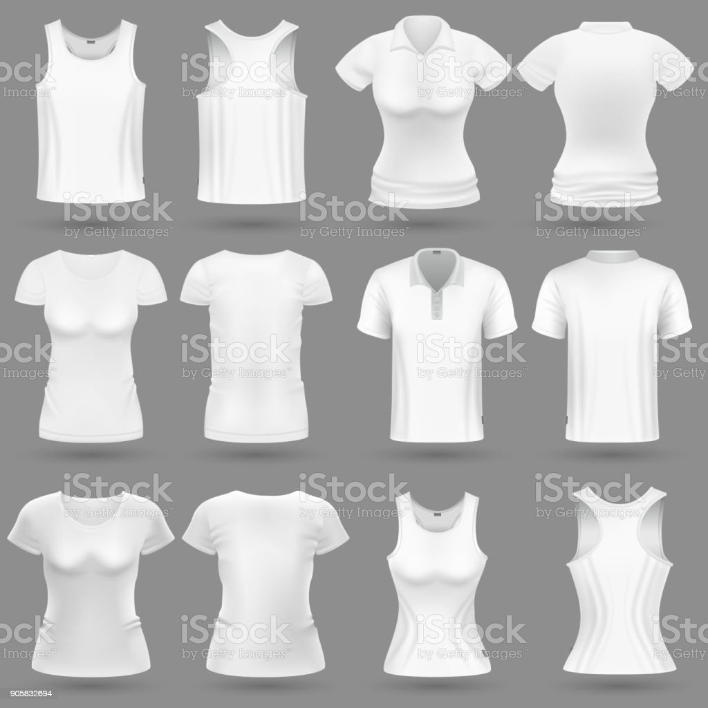 royalty free sleeveless shirt clip art vector images