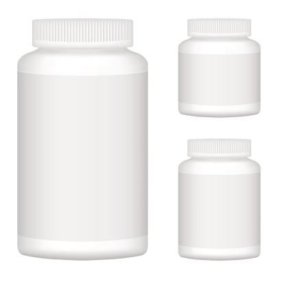 White Blank Plastic Bottle Set For Packaging Design Stock Illustration - Download Image Now