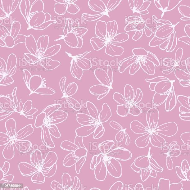 White blossom line flowers on pink background vector id1067899844?b=1&k=6&m=1067899844&s=612x612&h=1bhpijc0qm6 nmabbrszk9oku4ifemlwlsnqeuitpda=