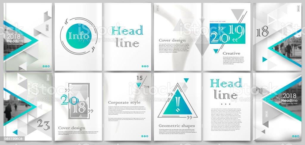 white book binder mockup a4 brochure cover design title sheet model