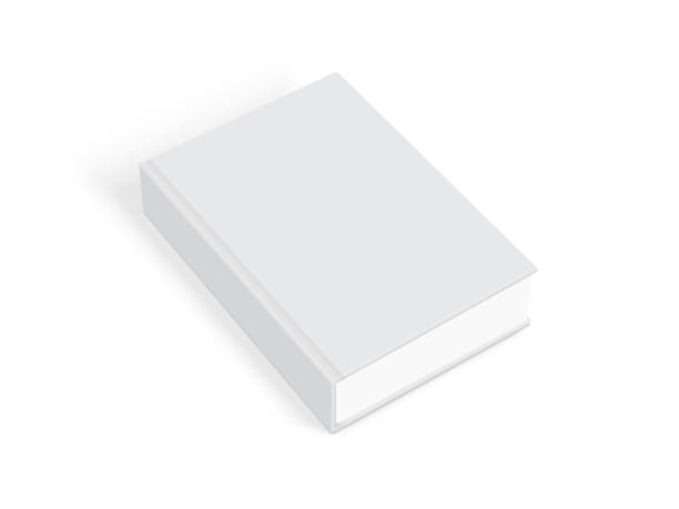 illustrations, cliparts, dessins animés et icônes de livres blancs avec couverture épaisse isolé sur fond blanc - ellen page