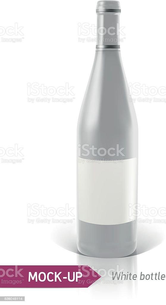 Blanco botellas de vino o cóctel ilustración de blanco botellas de vino o cóctel y más banco de imágenes de alcoholismo libre de derechos
