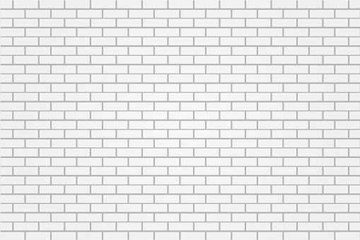 white brick tile wall background illustration vector