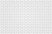 white brick tile wall background illustration vector