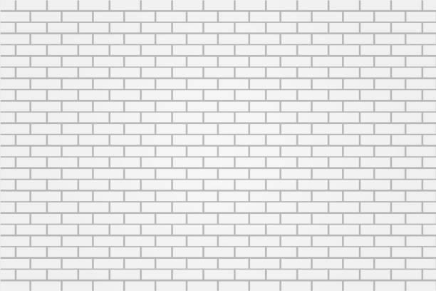 white brick tile wall background illustration vector white brick tile wall background illustration vector underground stock illustrations