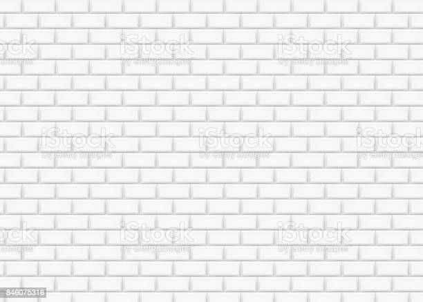 White brick wall in subway tile pattern vector illustration vector id846075316?b=1&k=6&m=846075316&s=612x612&h=hcannmr95sihdkjpr8ca1e2b3h2fm9lnlzvu6iny77a=