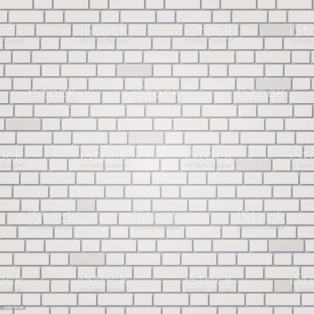 Pared de ladrillo blanco illustracion libre de derechos - Ladrillo caravista blanco ...