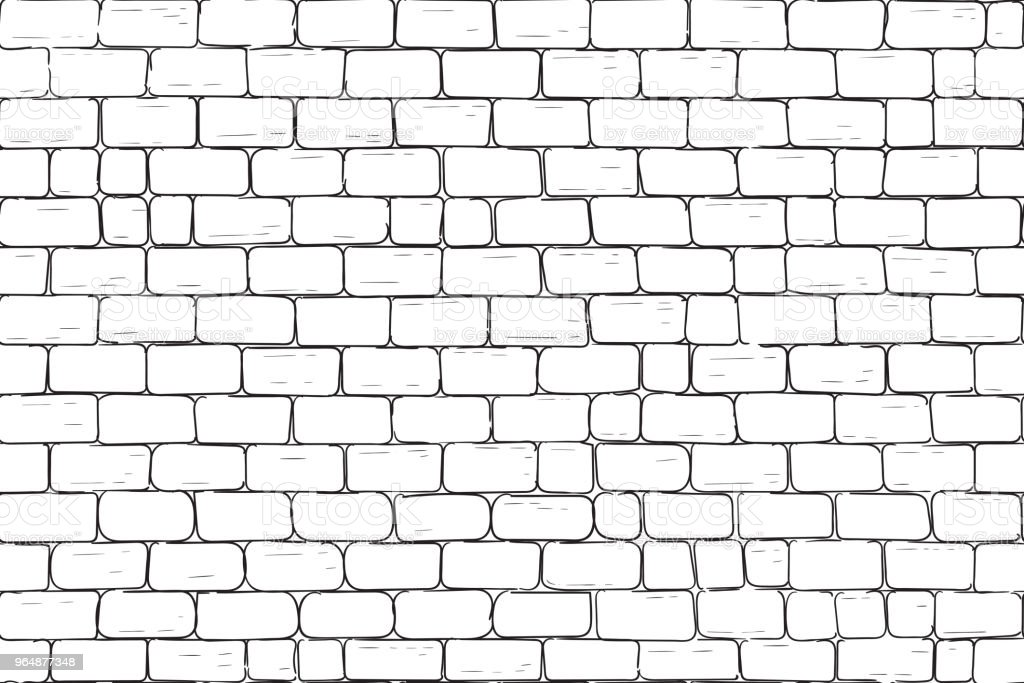 White bricks wall. Seamless pattern background royalty-free white bricks wall seamless pattern background stock vector art & more images of abstract