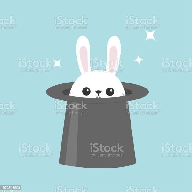 White bunny rabbit in magic hat sining stars funny head face icon big vector id970846508?b=1&k=6&m=970846508&s=612x612&h=wr2xz4evusjunvadvqadumeywmcbirh2zpgaq25m su=