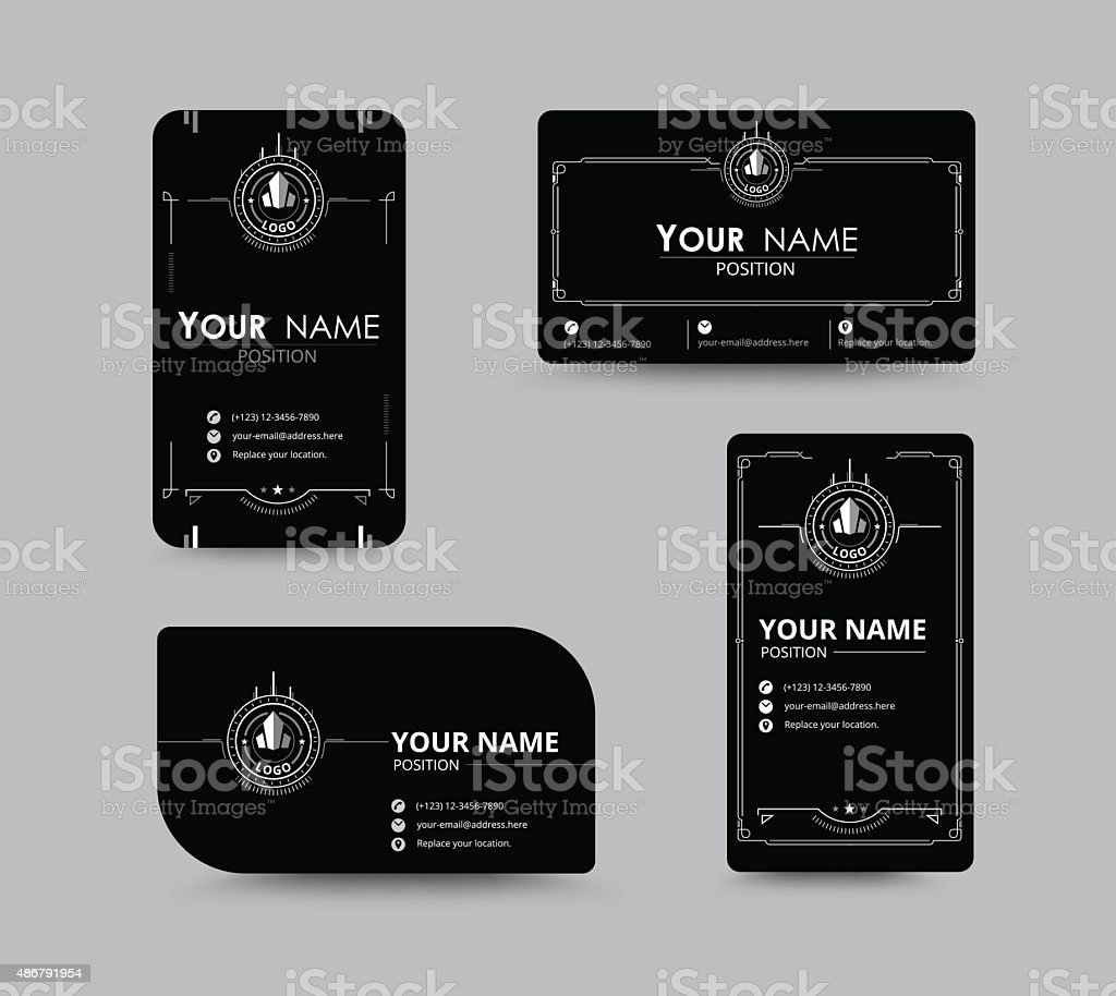 White business name card design with simple concept vector ill stock white business name card design with simple concept vector ill royalty free white colourmoves