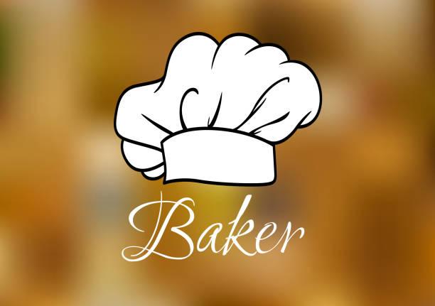 illustrations, cliparts, dessins animés et icônes de casquette ot toque blanche chef - boulanger