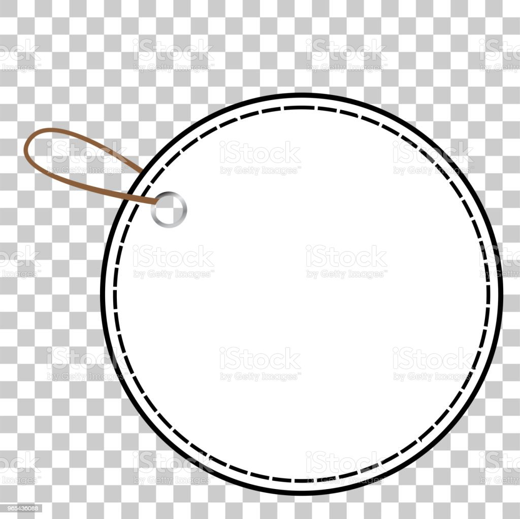 white circle blank tag at transparent effect background white circle blank tag at transparent effect background - stockowe grafiki wektorowe i więcej obrazów bez ludzi royalty-free