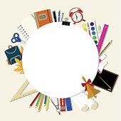 white circle school