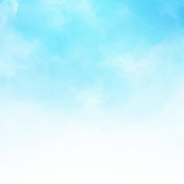 青空ベクトル イラスト背景コピー空間で白い雲詳細 - 空点のイラスト素材/クリップアート素材/マンガ素材/アイコン素材