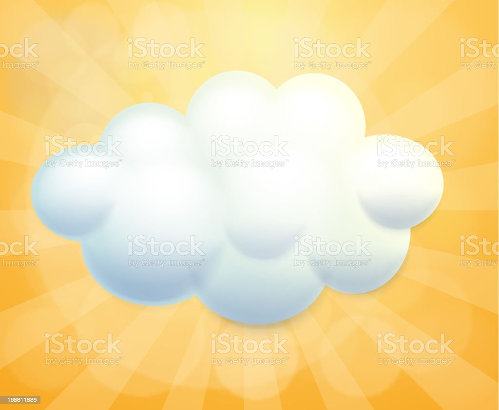 White cloud royalty-free white cloud stock vector art & more images of advertisement