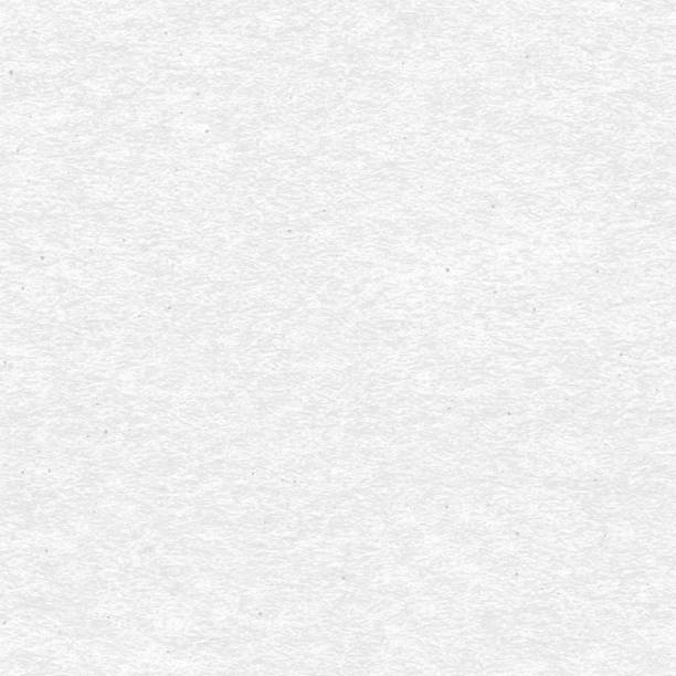 White craft paper with speckle seamless vector texture. Close-up of gray cardboard or parchment background. vector art illustration