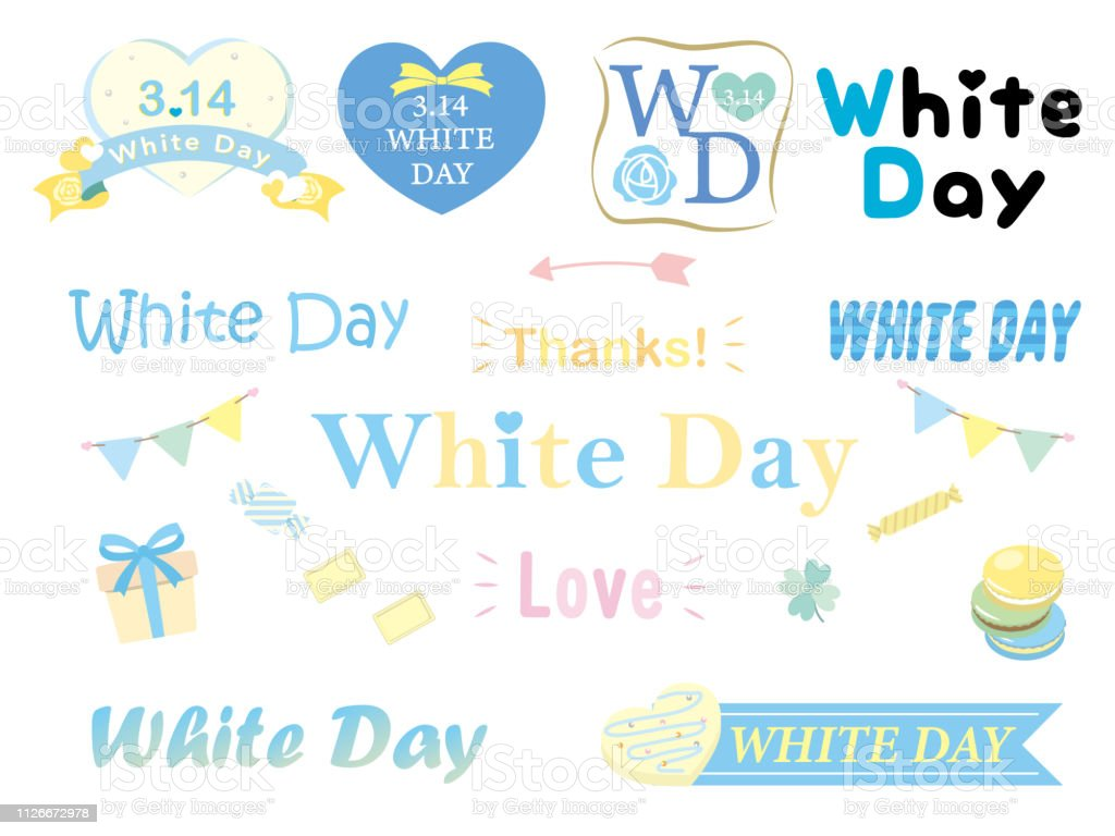 White Day6 Stock Illustration - Download Image Now - iStock