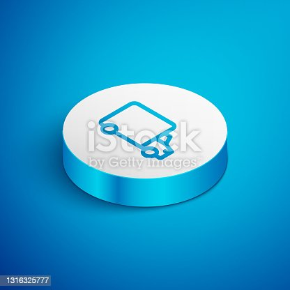 istock White Delivery cargo truck vehicle icon isolated with long shadow. Pink hexagon button. Vector 1316325777