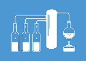 White distillation kit