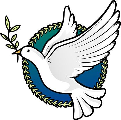 Blanche Colombe De La Paix Vecteurs libres de droits et ...