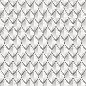 White dragon scales seamless background texture