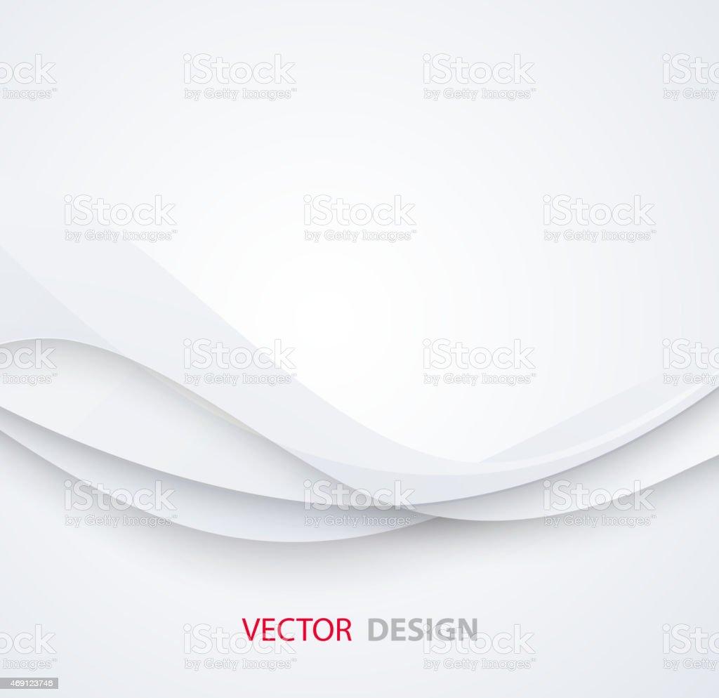 White elegant business background vector art illustration
