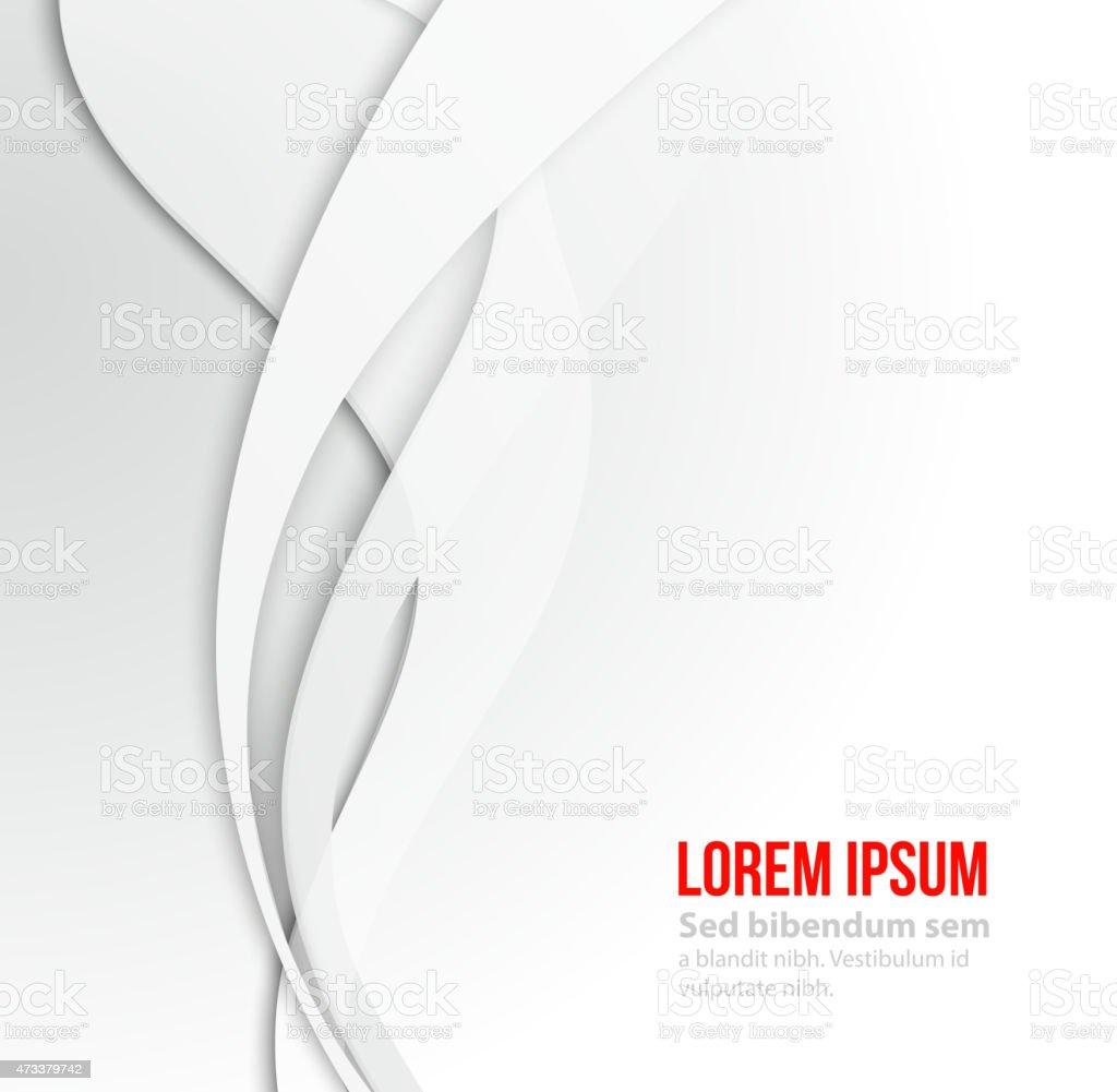 White elegant business background. vector art illustration