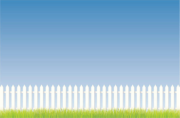 Best Picket Fence Illustrations, Royalty-Free Vector ...