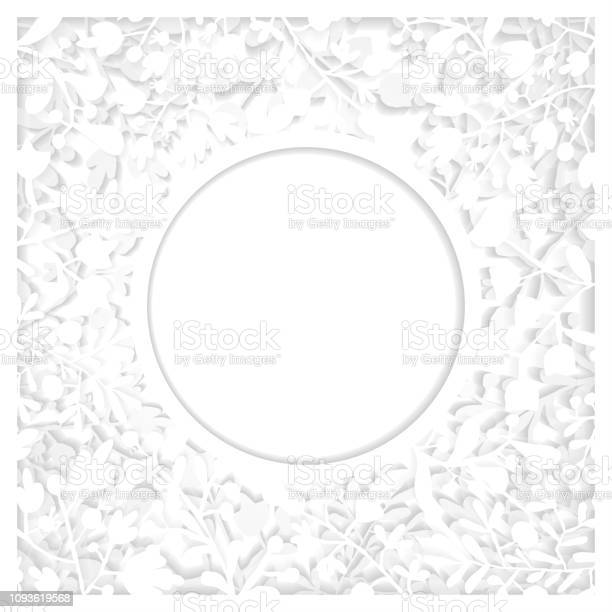 White floral papercut art with two layers and shadow elegant frame vector id1093619568?b=1&k=6&m=1093619568&s=612x612&h=fa ikl6baoaw6 0mfrr9hfbfwa3lkrq8ddzf s904u0=