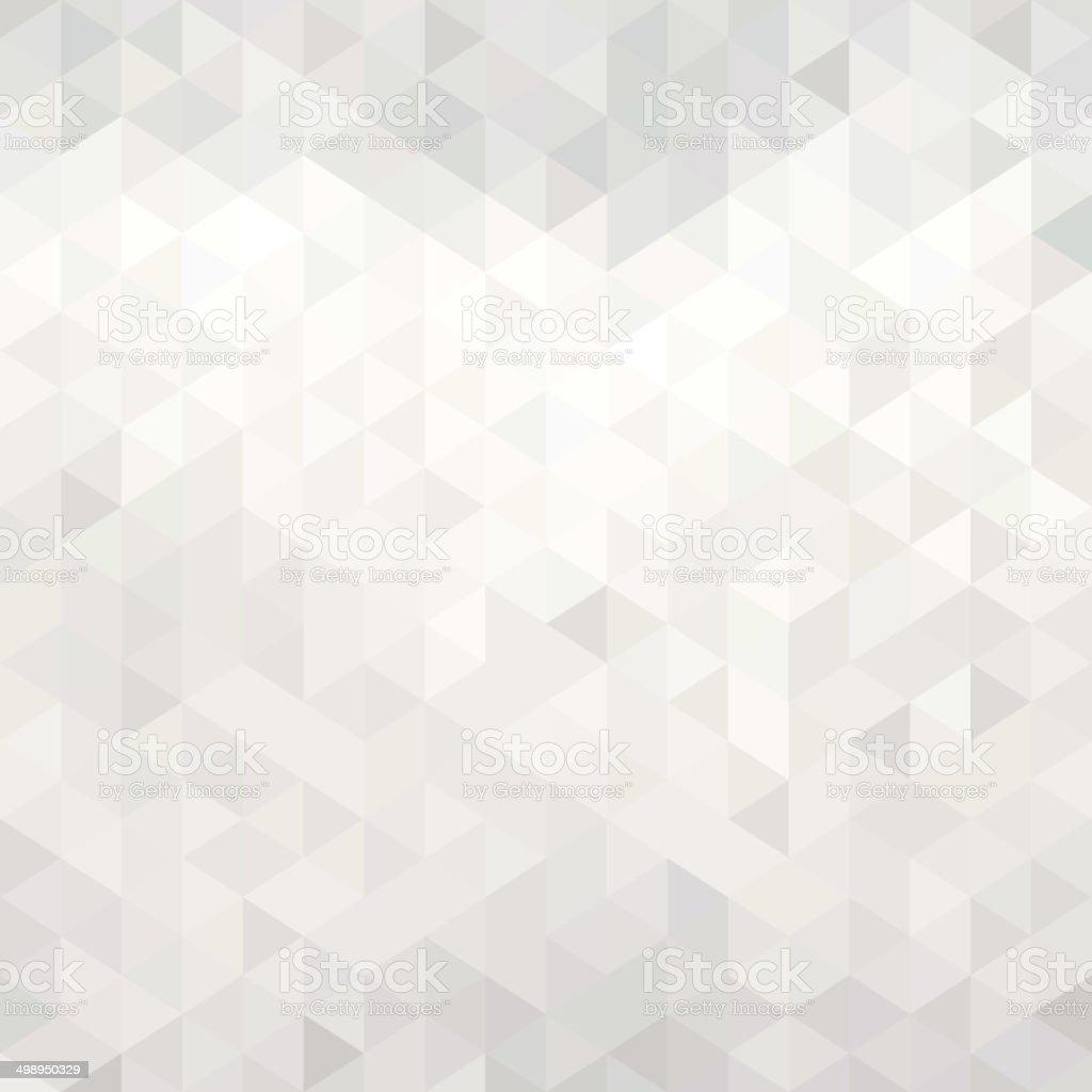 White geometric background vector art illustration