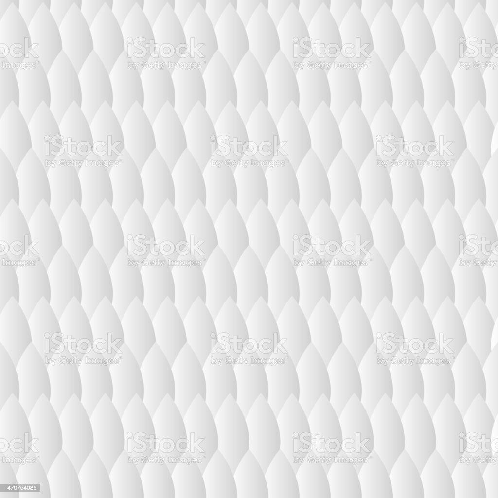 Motif géométrique blanc - Illustration vectorielle