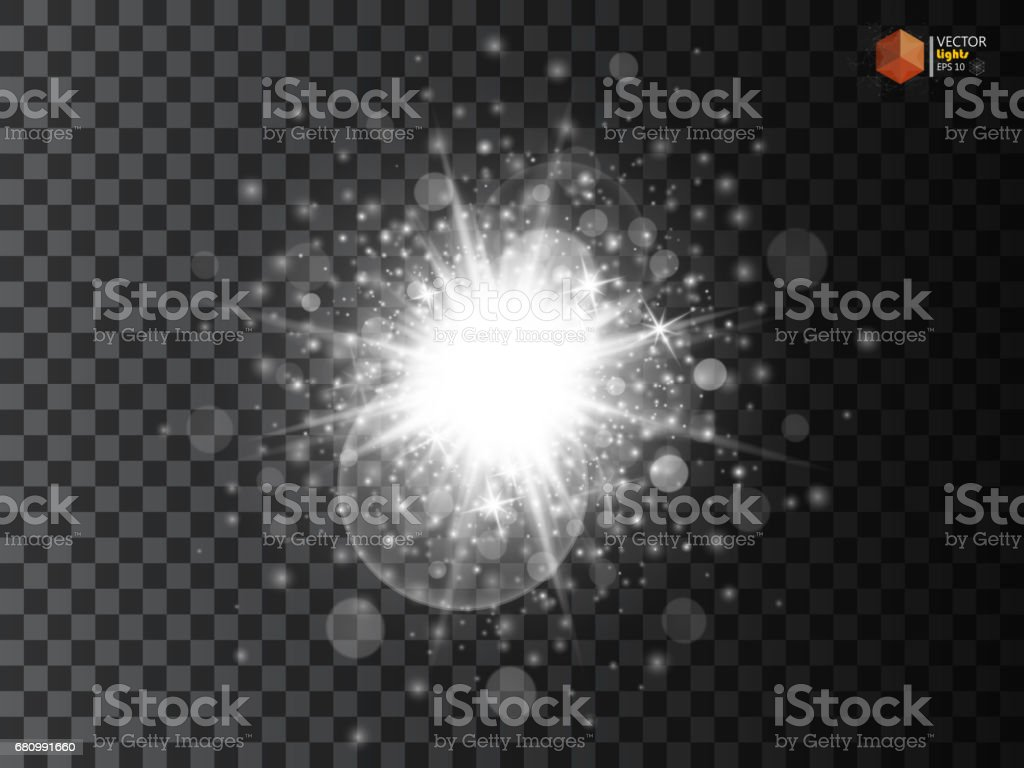 White glowing light burst explosion with transparent. Vector illustration for cool effect decoration with ray sparkles. Bright star. royalty-free white glowing light burst explosion with transparent vector illustration for cool effect decoration with ray sparkles bright star stock vector art & more images of abstract