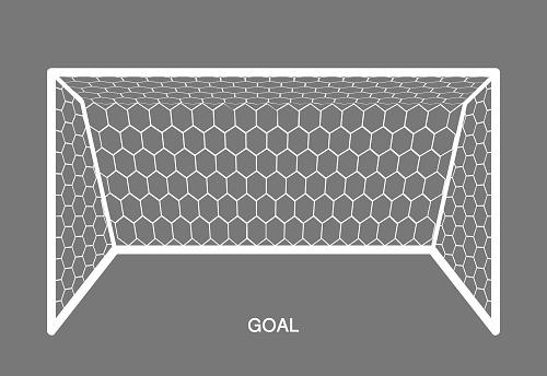 White Goal, Football element.