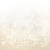 white gold light background abstract design vector illustration blur circle bokeh.