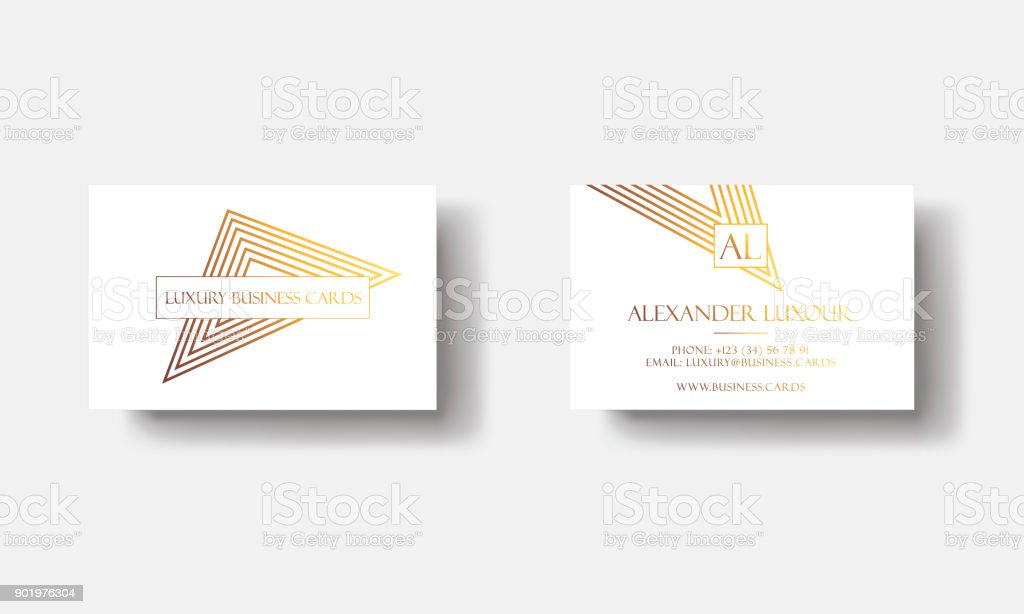 White gold luxury business cards for vip event elegant greeting card white gold luxury business cards for vip event elegant greeting card with golden triangular geometric m4hsunfo