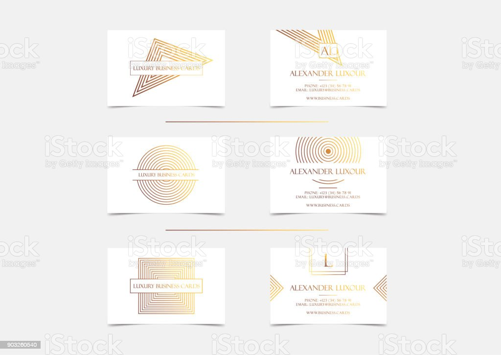 White Gold Luxury Business Cards Set For Vip Event Elegant ...