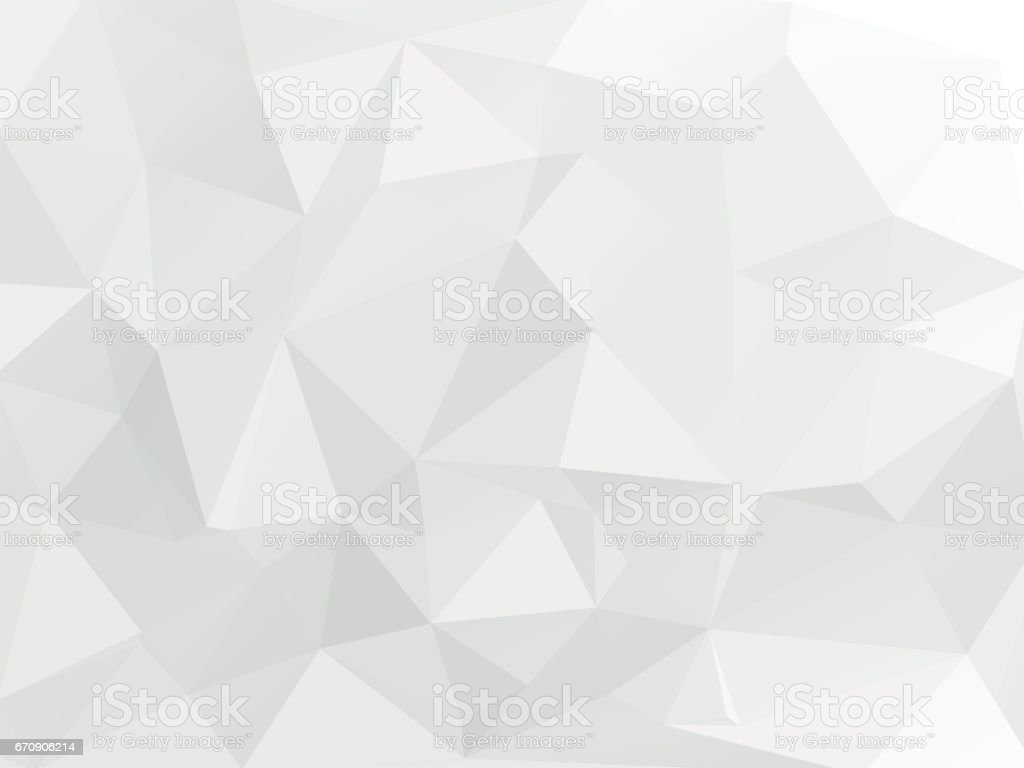 white gray geometric wallpaper background vector art illustration