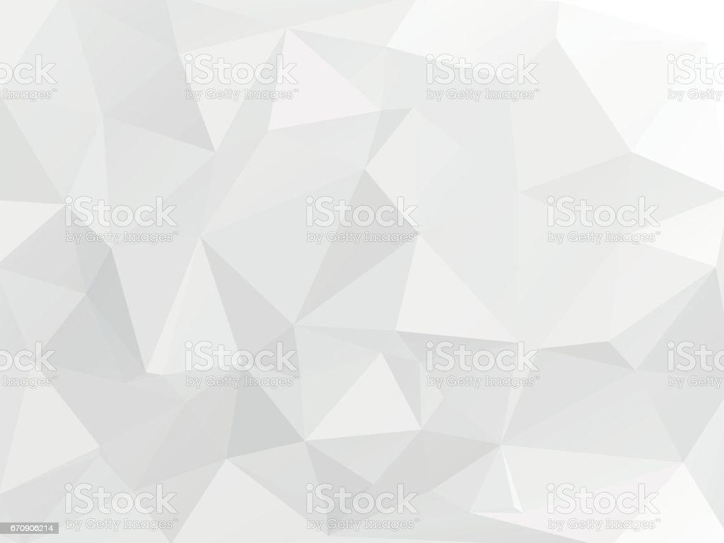 blanc gris fond géométrique - Illustration vectorielle